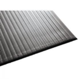 Guardian Air Step Antifatigue Mat, Polypropylene, 36 x 144, Black