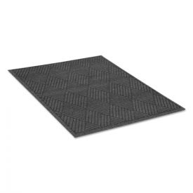 Guardian EcoGuard Diamond Floor Mat, Rectangular, 48 x 72, Charcoal