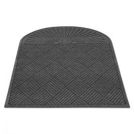 Guardian EcoGuard Diamond Floor Mat, Single Fan, 36 x 72, Charcoal