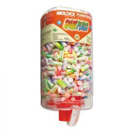 Moldex® SparkPlugs PlugStation Earplug Dispenser, Cordless, 33NRR, Asst