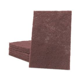 Scotch-Brite™ PROFESSIONAL General Purpose Hand Pad, 6 x 9, Maroon