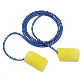 3M™ E·A·R Classic Earplugs, Corded, PVC Foam, Yellow