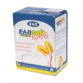 3M™ E·A·R soft Blasts Earplugs, Corded, Foam, Yellow Neon