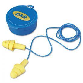 3M™ E·A·R UltraFit Multi-Use Earplugs, Corded, 25NRR, Yellow/Blue