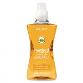 Method® 4X Concentrated Laundry Detergent, Ginger Mango, 53.5oz