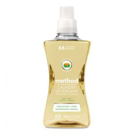 Method® 4X Concentrated Laundry Detergent, Free & Clear, 53.5oz