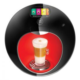 NESCAFÉ® Dolce Gusto® Majesto Automatic Coffee Machine, Black/Red