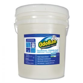 OdoBan® Concentrate Odor Eliminator and Disinfectant, Fresh Linen, 5 gal