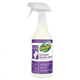 OdoBan® BioOdor Digester, Eucalyptus Scent, 32oz Bottle
