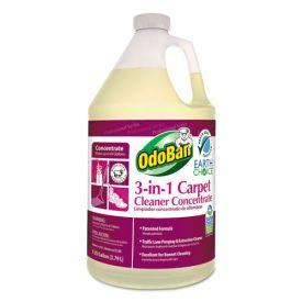 OdoBan® Earth Choice 3-N-1 Carpet Cleaner, 128 oz Bottle, Unscented