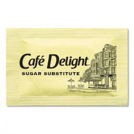 Café Delight Yellow Sweetener Packets, 0.08 g Packet