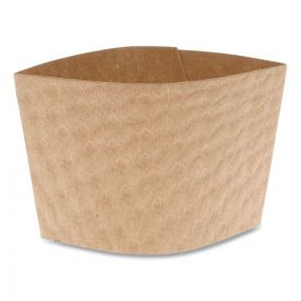 Pactiv Cup Sleeve, Fits 12-24 oz Cups, Kraft