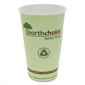 Pactiv EarthChoice Hot Cups, 16 oz, Green