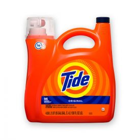 Tide® HE Laundry Detergent, Original Scent, 96 Loads, 138oz Pump Bottle