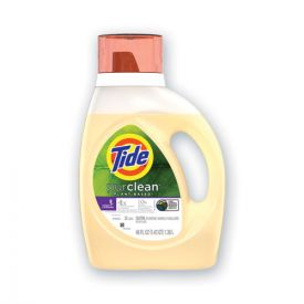 Tide® PurClean Liquid Laundry Detergent, Honey Lavender, 32 Loads, 46oz Bottle