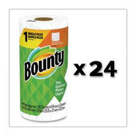 Bounty® Paper Towels, 2-Ply, White, 54 Sheets/Roll