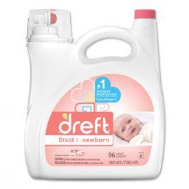 Dreft® Ultra Laundry Detergent, Liquid, Baby Powder Scent, 150oz.