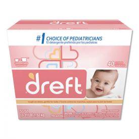 Dreft® Ultra Powdered Laundry Detergent, Baby Powder Scent, 53oz.