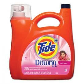 Tide® Touch of Downy Liquid Laundry Detergent, April Fresh, 138oz Bottle,