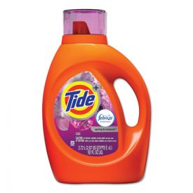 Tide® Plus Febreze Liquid Laundry Detergent, Spring & Renewal, 92oz Bottle