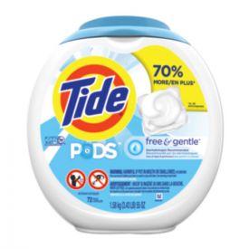 Tide® Free & Gentle Laundry Detergent, Pods 4/72
