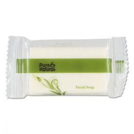 Pure & Natural™ Body & Facial Soap, # 3/4, Fresh Scent, White