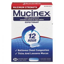 Mucinex® Maximum Strength Expectorant, 28 Tablets