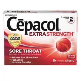 Cepacol® Exta Strength Sore Throat Lozenge, Cherry