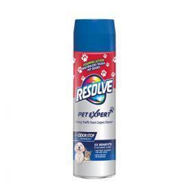 RESOLVE® Pet High Traffic Foam Carpet and Upholstery Cleaner, 22oz. aerosol