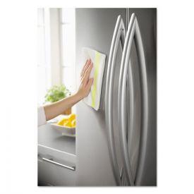 Rubbermaid® Commercial HYGEN™ HYGEN Sanitizer Safe Microfiber Cloth, 16 x 19, White/Yellow