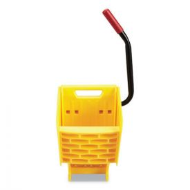 Rubbermaid® Commercial WaveBrake 2.0 Wringer, Side-Press, Plastic, Yellow
