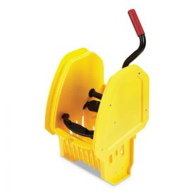 Rubbermaid® Commercial WaveBrake 2.0 Wringer, Down-Press, Plastic, Yellow