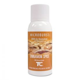 Rubbermaid® Commercial TC Microburst 3000 Air Freshener Refill, Cinnamon Spice, 2 oz.
