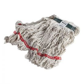 Rubbermaid® Commercial Swinger Loop Wet Mop Heads, Cotton/Synthetic, White, Medium