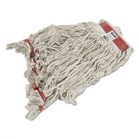 Rubbermaid® Commercial Swinger Loop Wet Mop Heads, Cotton/Synthetic, White, Large