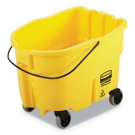 Rubbermaid® Commercial WaveBrake 2.0 Bucket, 26qt, Plastic, Yellow