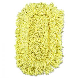 Rubbermaid® Commercial Trapper Looped-End Dust Mop Head, 12 x 5, Yellow