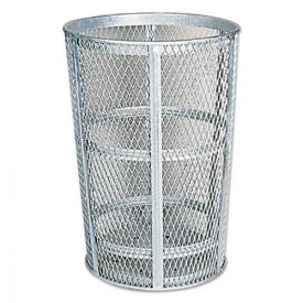 Rubbermaid® Commercial Street Basket Waste Receptacle, 23