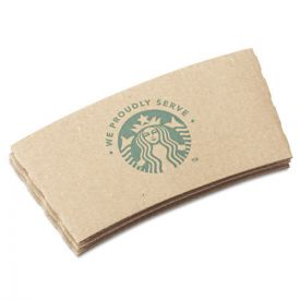 Starbucks® Cup Sleeves, For 12/16/20 oz Hot Cups