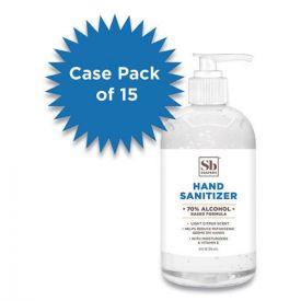 Soapbox 70% Alcohol Scented Hand Sanitizer, 12oz Pump Bottle, Citrus