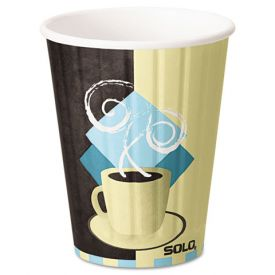 Dart Tuscan Café Duo Shield Paper Cups 12oz.