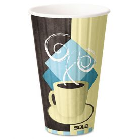 Dart Tuscan Café Duo Shield Paper Cups 16oz.