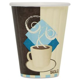 Dart Tuscan Café Duo Shield Paper Cups 8oz.