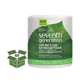 Seventh Generation® 100% Recycled Jumbo Roll Bathroom Tissue, 2-Ply
