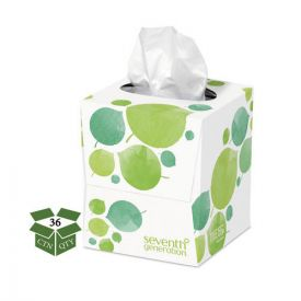 Seventh Generation® 100% Recycled Facial Tissue, 2-Ply