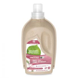 Seventh Generation® Natural Liquid Laundry Detergent, Geranium Blossoms and Vanilla, 50oz.