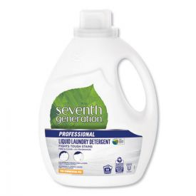 Seventh Generation® Professional Liquid Laundry Detergent, Free and Clear, 66 loads, 100oz.