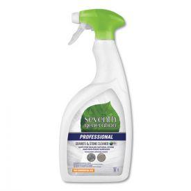 Seventh Generation® Professional Granite and Stone Cleaner, Mandarin Orange Scent, 32oz.