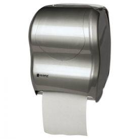 San Jamar® Tear-N-Dry Touchless Roll Towel Dispenser, 16 3/4 x 10 x 12 1/2, Silver