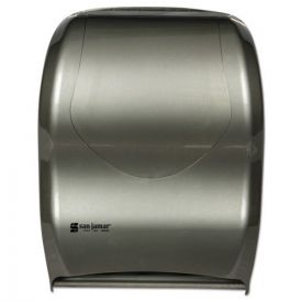 San Jamar® Smart System with iQ Sensor Towel Dispenser, 16 1/2 x 9 3/4 x 12, Silver